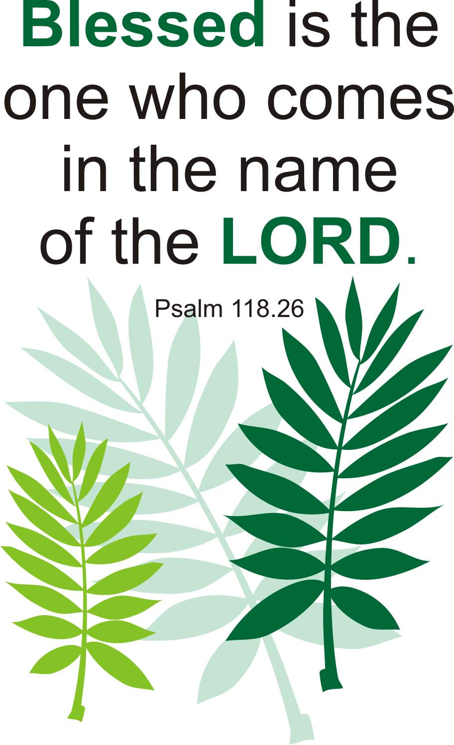Free palm sunday clipart 9 » Clipart Station.