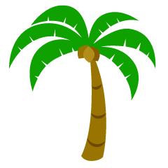 Palm Tree Free Clip Art & Graphics|Illustoon.