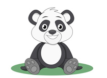 Free Panda Clipart.
