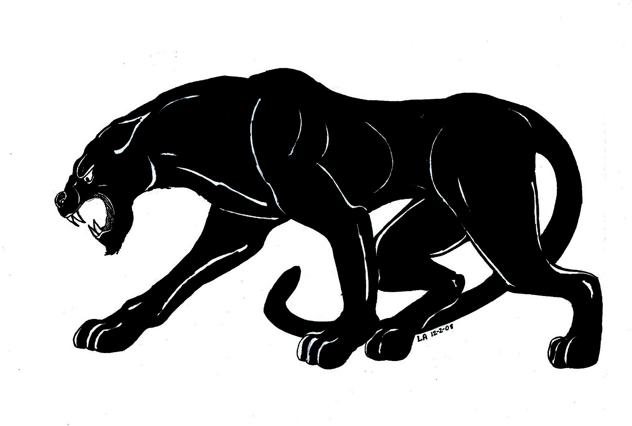Panther clipart free 5 » Clipart Portal.