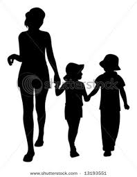 Image result for children's silhouette free clip art.