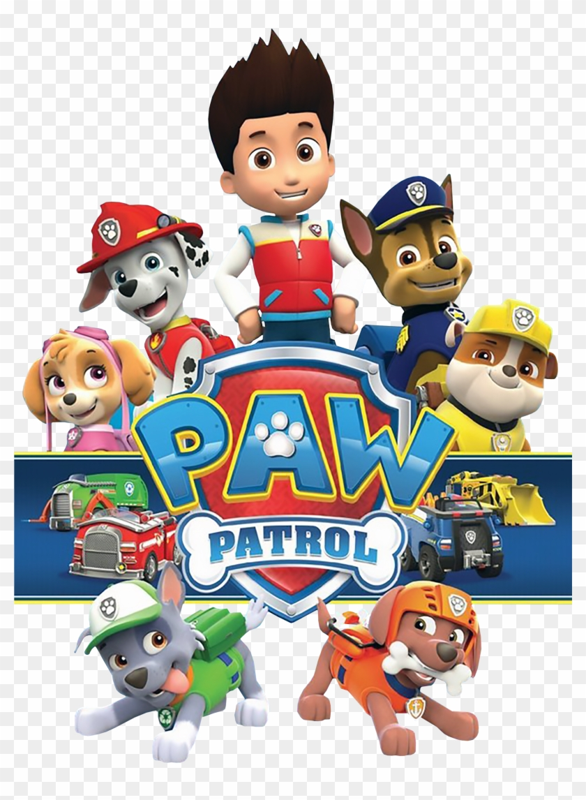 Transparent Stock Paw Patrol Clipart Free, HD Png Download.