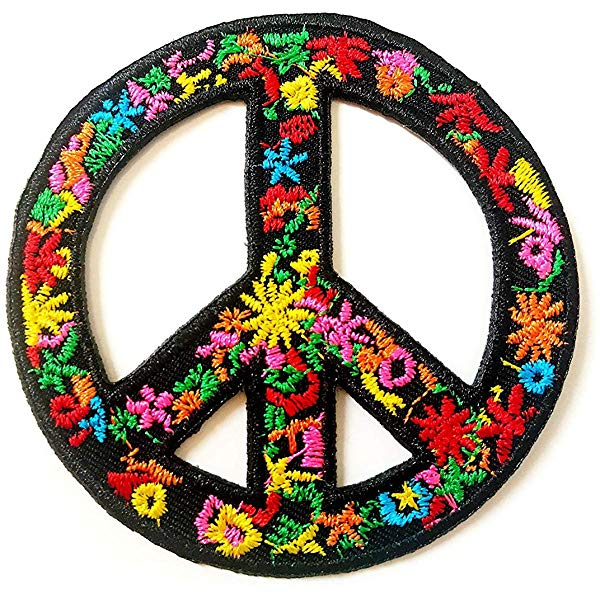 Amazon.com: Tyga_Thai Brand Flower Peace Sign Biker Love.