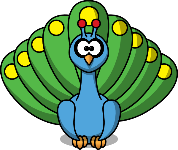 Free Peacock Clipart at GetDrawings.com.