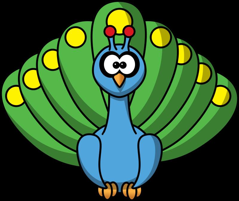 Free to Use & Public Domain Peacock Clip Art.