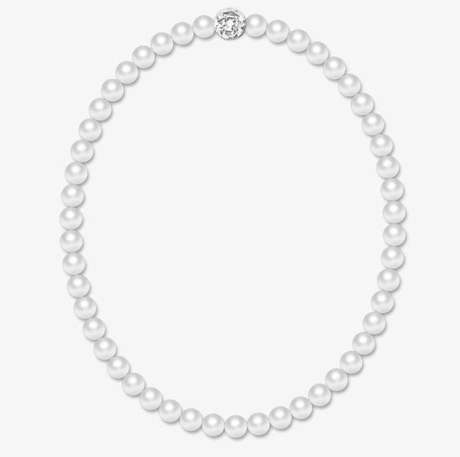 Pearl Necklace PNG, Clipart, Frame, Jewelry, Necklace.