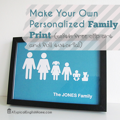 Personalized Family Print.