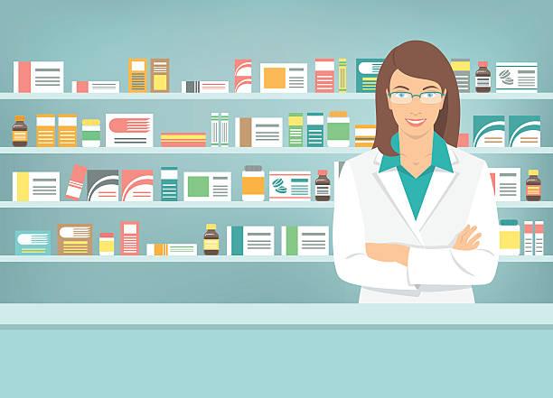 Best Pharmacist Illustrations, Royalty.