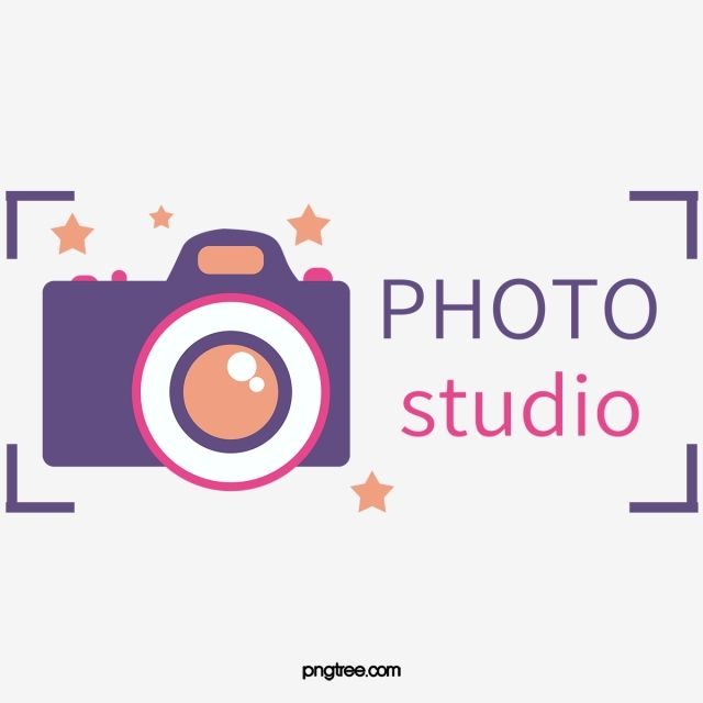 Purple Photography Logo, Photography Clipart, Logo Clipart.