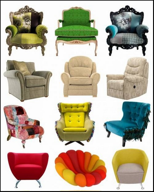 Furniture Clipart free png.