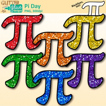 Pi Day Clip Art: Free Area and Circumference Graphics {Glitter Meets.