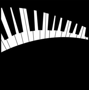 Piano Keyboard Clip Art Free.