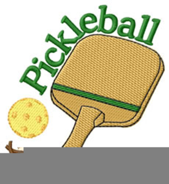 Free pickleball clipart » Clipart Station.