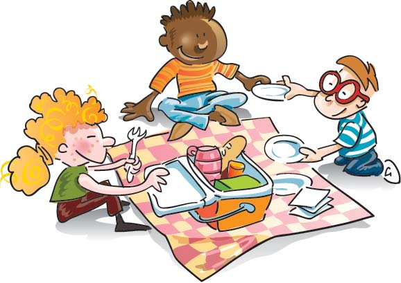 Family picnic clipart free clipart images.