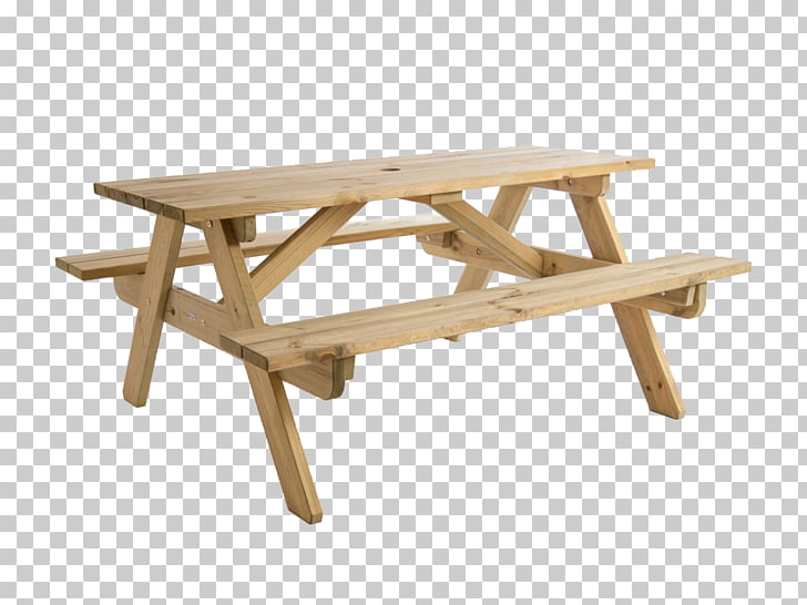 Picnic table Bench Garden furniture, a wooden table PNG.