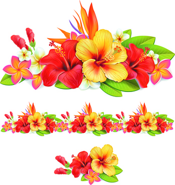 Beautiful flower theme free vector download (18,498 Free vector.