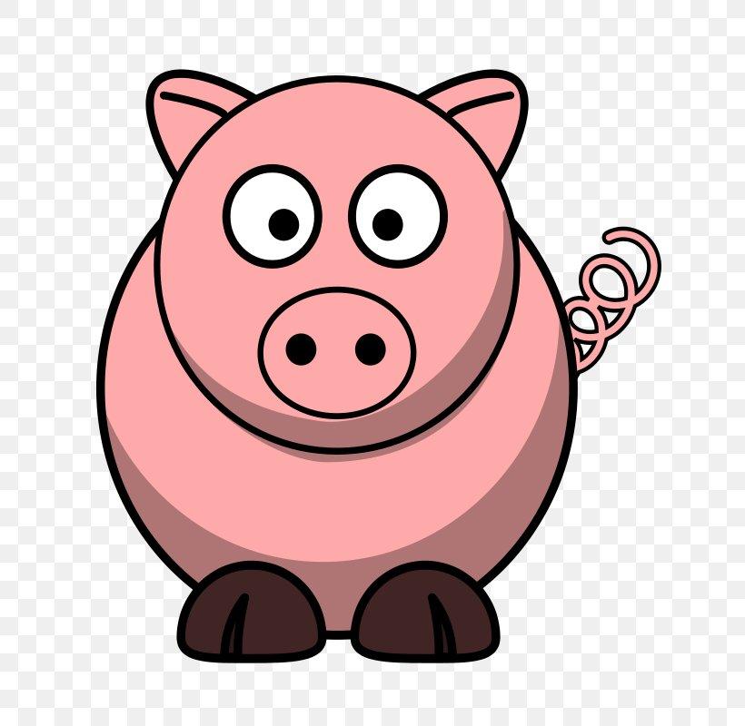 Domestic Pig Free Content Clip Art, PNG, 667x800px, Domestic.