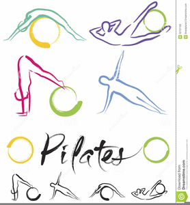 Pilates Clipart Graphics.