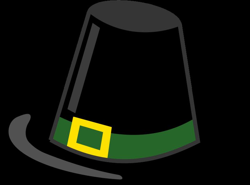 Free Clipart: Pilgrim hat.