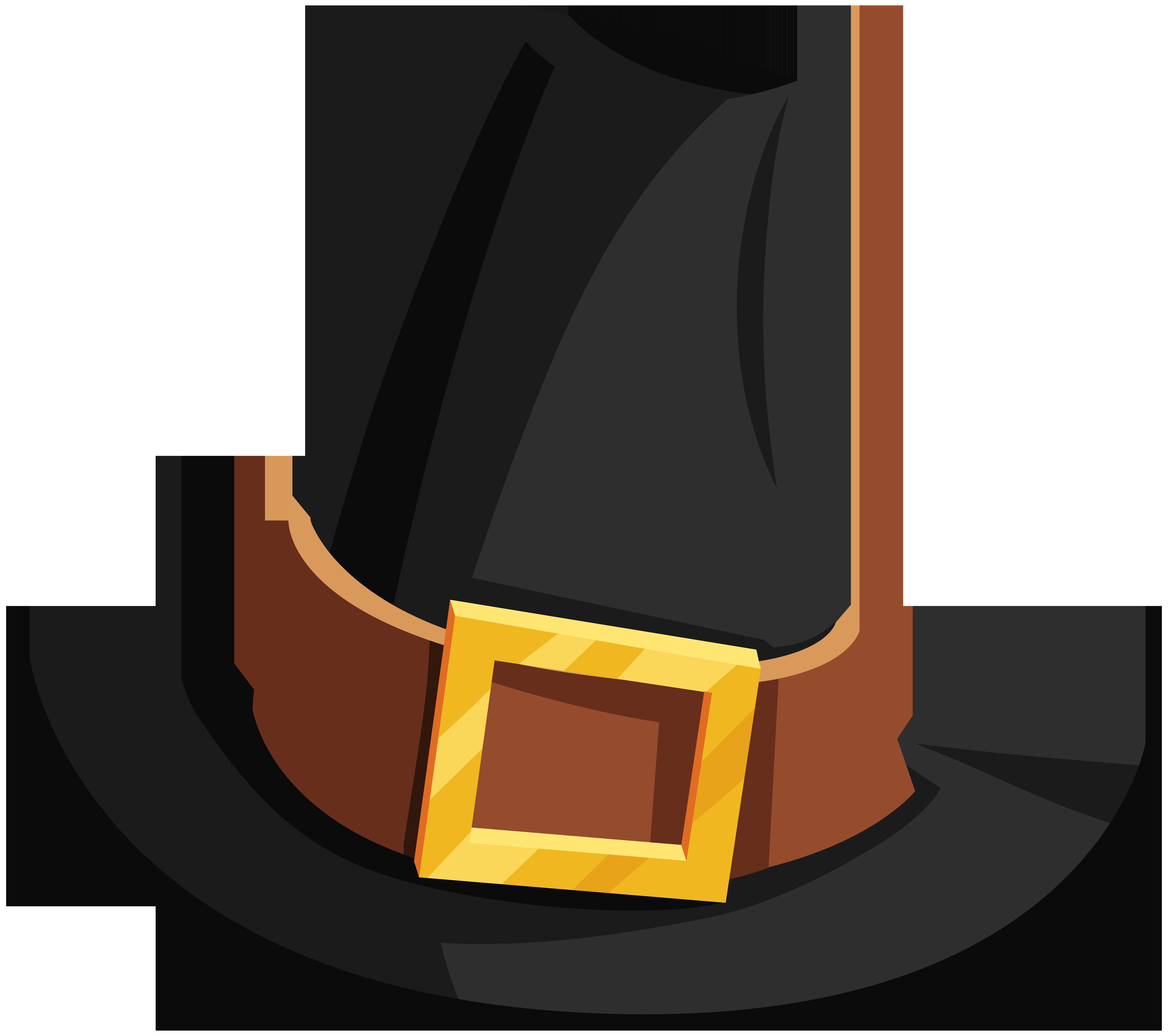 Pilgrim\'s hat Clip art.