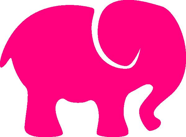 Pink Elephant PNG, SVG Clip art for Web.