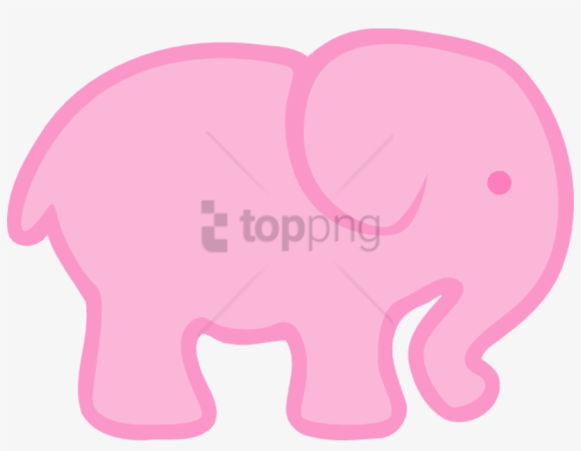 Larger Clipart Baby Elephant.