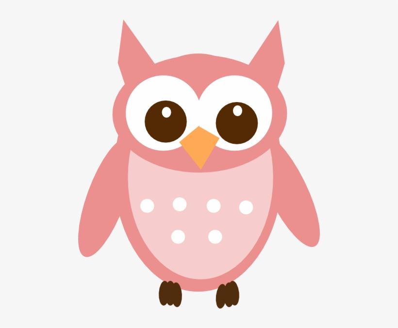 Rose Pink Owl Clip Art Vector Online Royalty Free.