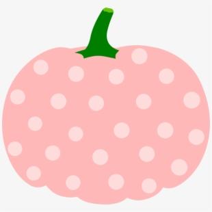 Clipart Pumpkin Polka Dot.