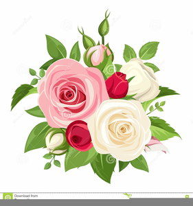 Pink Rose Clipart Border.