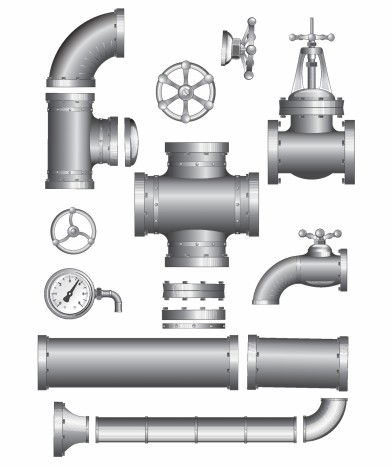 Pipeline Pipe. Vector Clipart vectors stock in format for.
