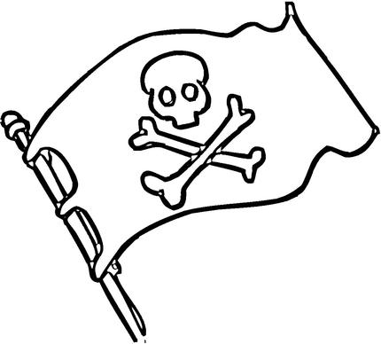 Free Pirate Clip Art Black And White, Download Free Clip Art.