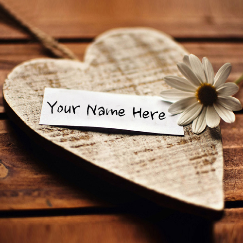 Write Your Girlfriend Name on Heart Online Free.