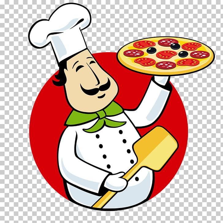 Pizza delivery Italian cuisine Chef , Take pizza chef, chef.