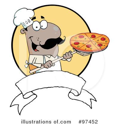 Pizza Chef Clipart #97452.