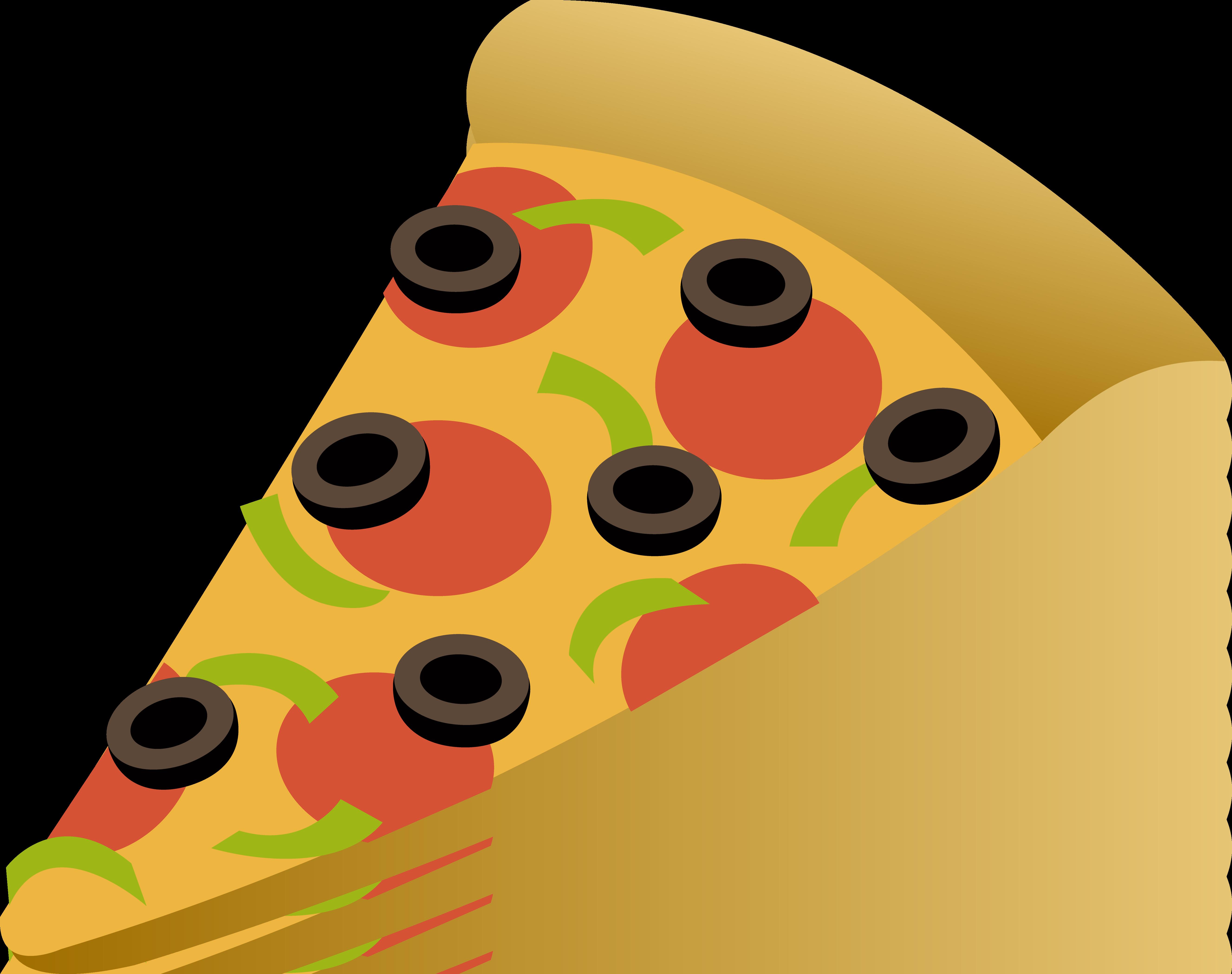 Pizza Slice Clip Art.