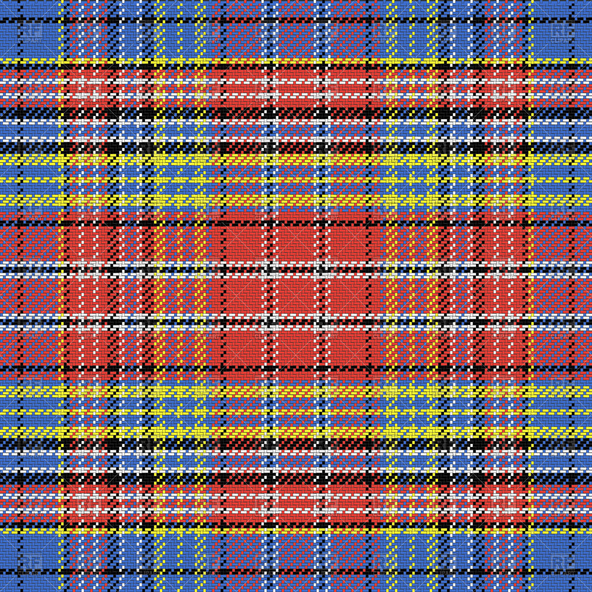 Multicolored Scottish tartan Stock Vector Image.