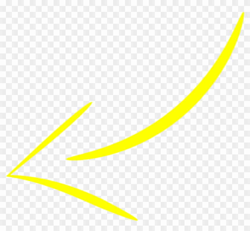 Free Png Download Yellow Curved Arrow Png Images Background.