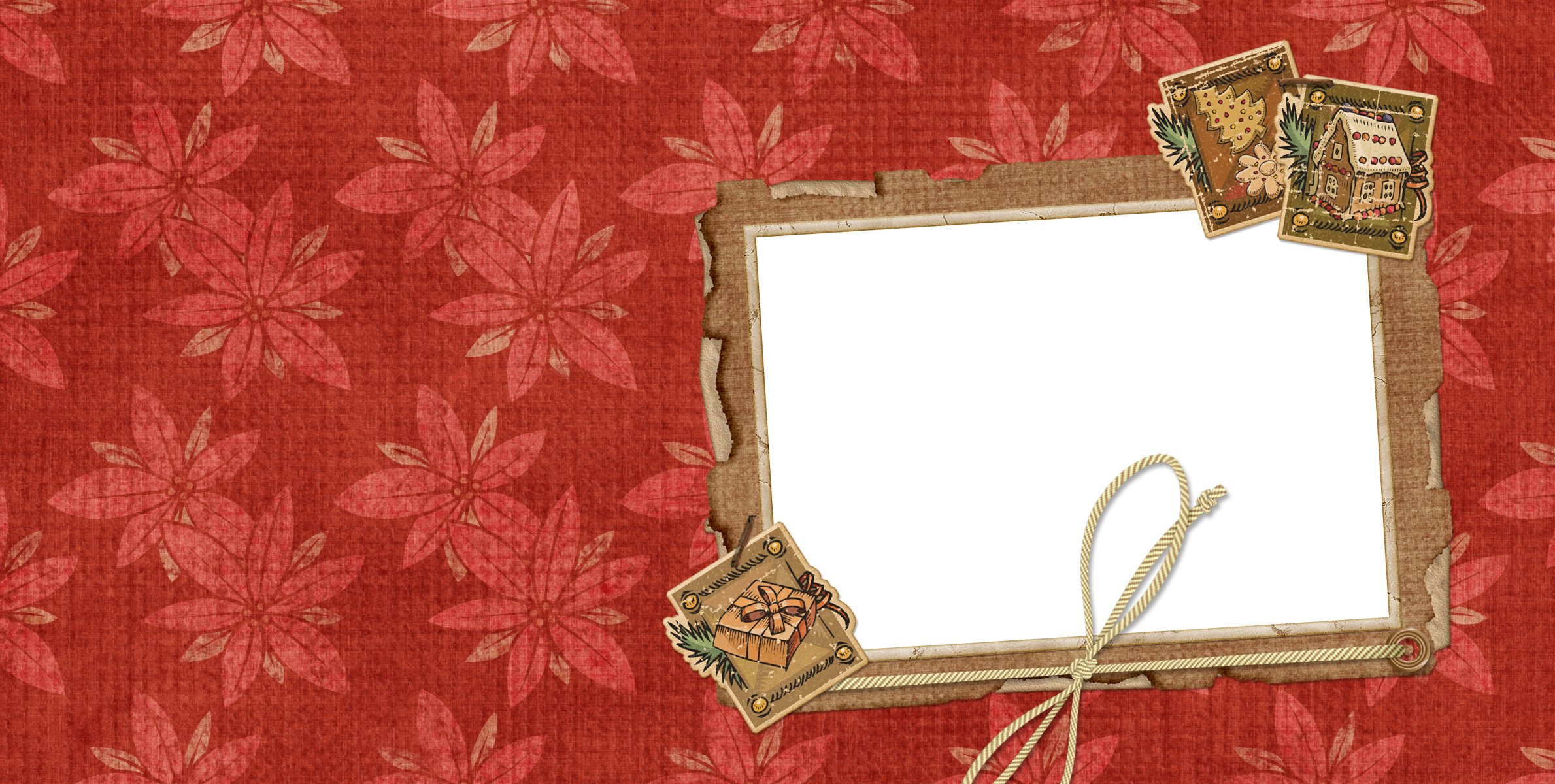 HD Christmas Card Layout.