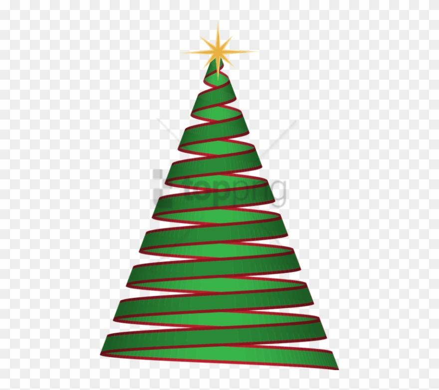 Free Png Christmas Tree Ribbon Png Image With Transparent.