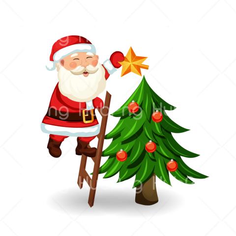 santa clipart christmas png Transparent Background Image for.