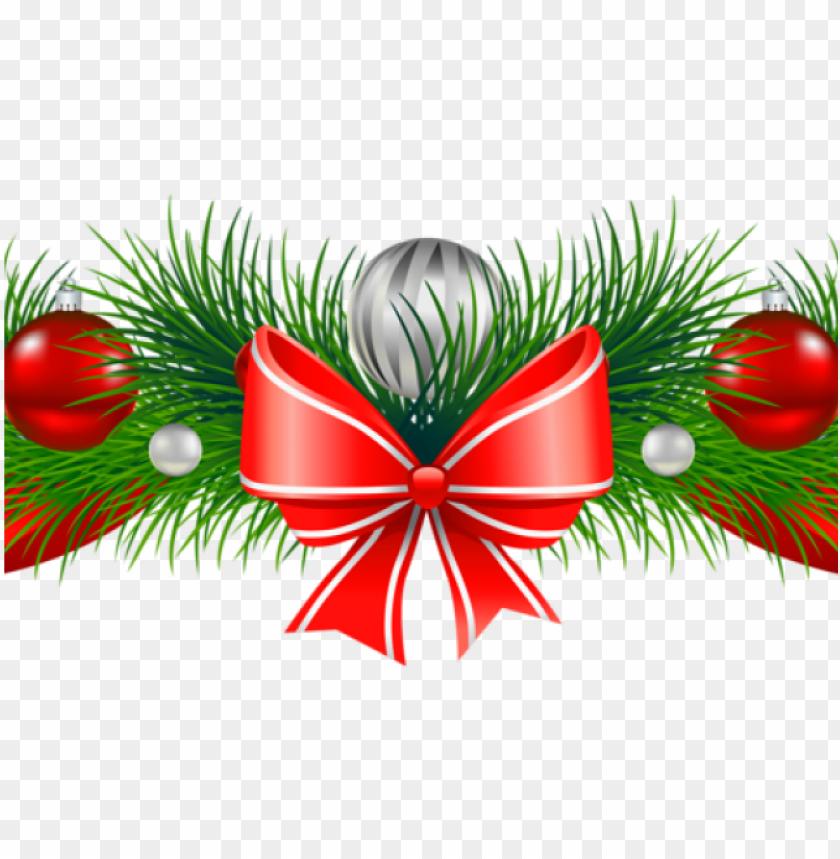 christmas garland clipart.
