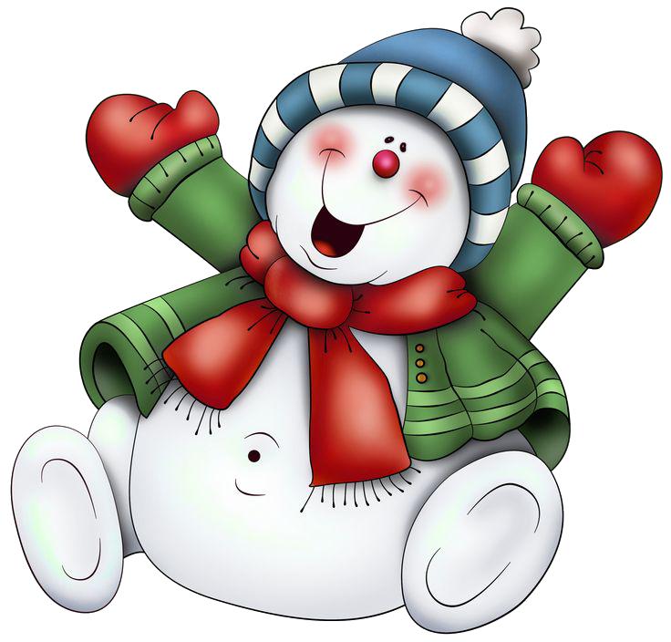 Snowman PNG Transparent Images.