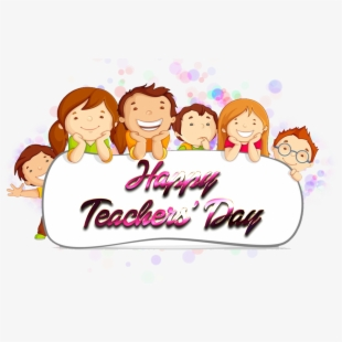 Happy Teachers\' Day Download Free Png.