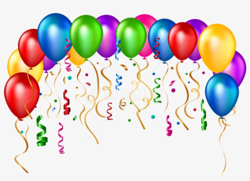 Free Png Download Birthday Party Balloons Transparent.