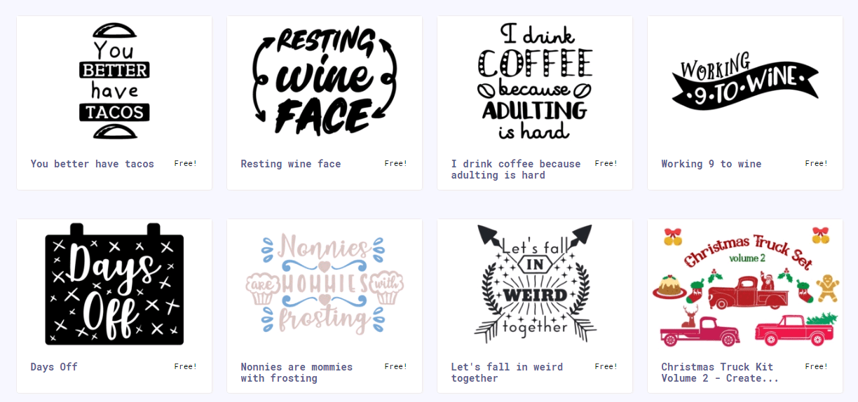 The Best Free SVG Files For Cricut & Silhouette.