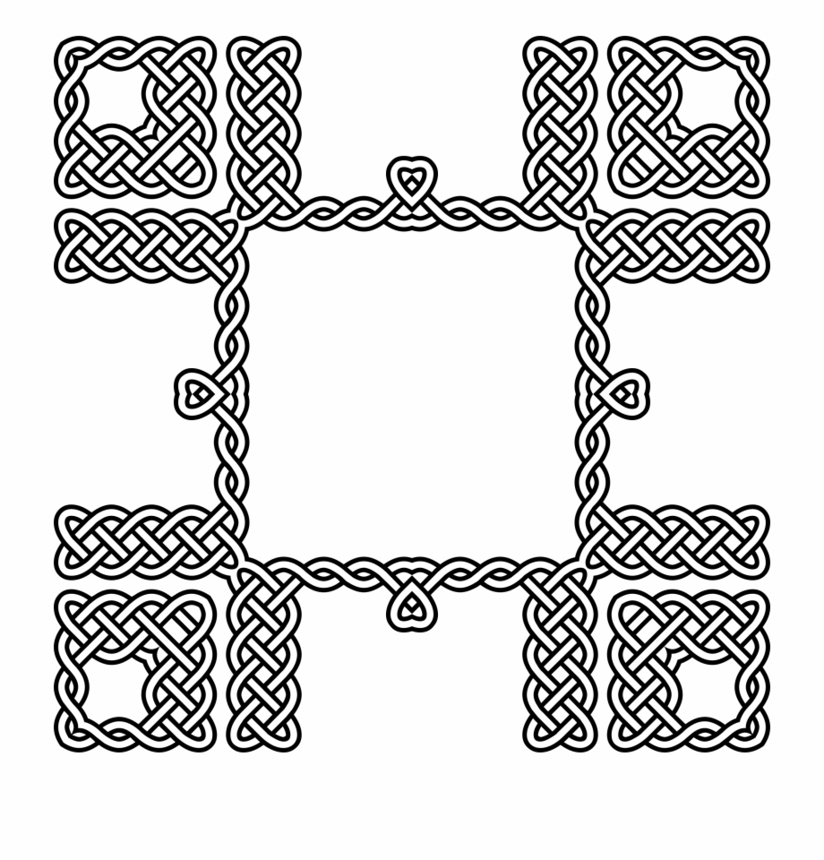 This Free Icons Png Design Of Celtic Knot Frame 3.