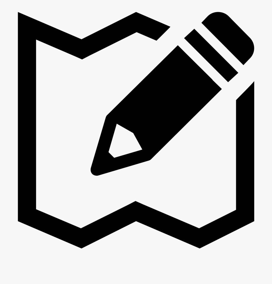 Map Editing Icon.