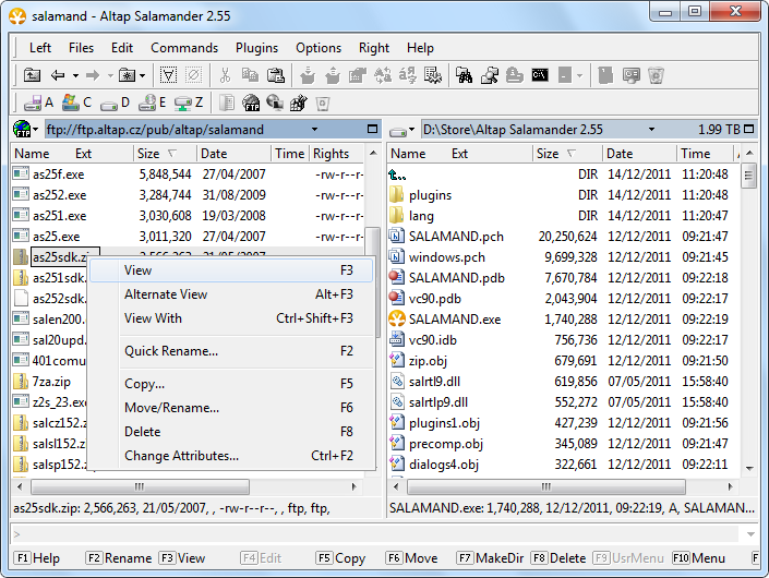 File Viewer, Quick View Alternative, View file from archive, FTP or.