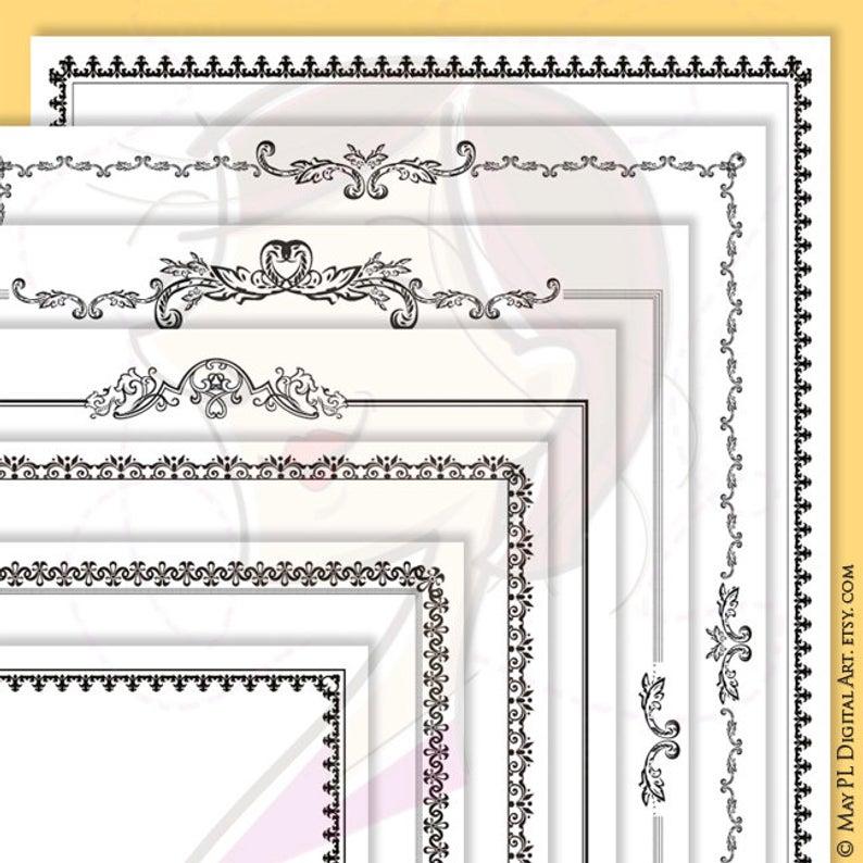 Border Png Frames Decorative Clip Art.