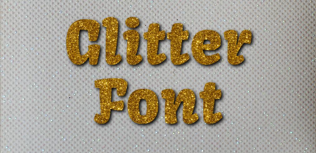 Free Glitter Text Generator.